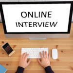 Virtuelle Bewerbungsgespräche